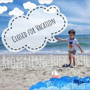 Accessories - On vacation, will reopen July 20th.